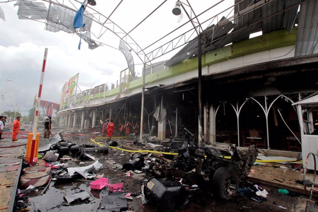 Doble atentado con bomba en Tailandia