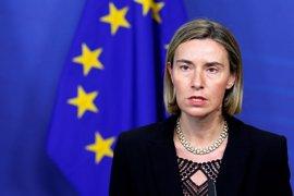 Mogherini pide a EEUU que mantenga sus contribuciones a la ONU y que no se salga del Acuerdo de París