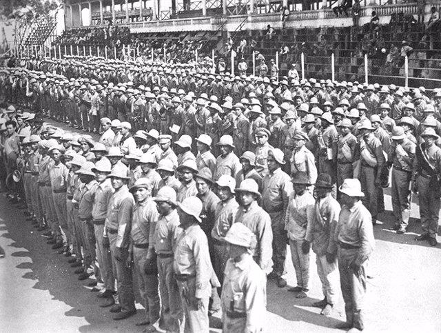 tropas paraguayas