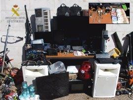 Detenidas dos personas y desarticulado un punto de venta de droga en Tomelloso