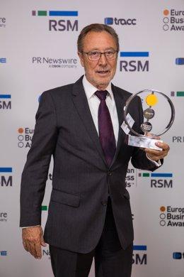 Vicent Berbegal premio Empresario Europeo del Año