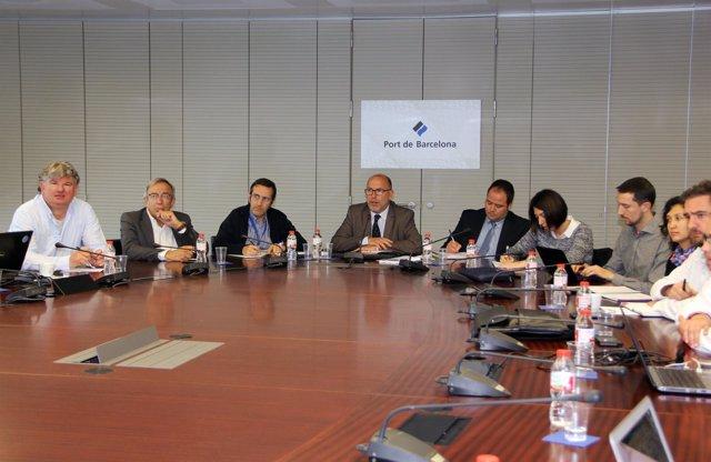 Miembros del proyecto RePort del Puerto de Barcelona
