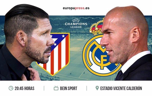 Horario y dónde ver el Atlético de Madrid – Real Madrid | Vuelta semifinales Cha