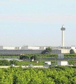 Vista exterior de la cárcel de Picassent
