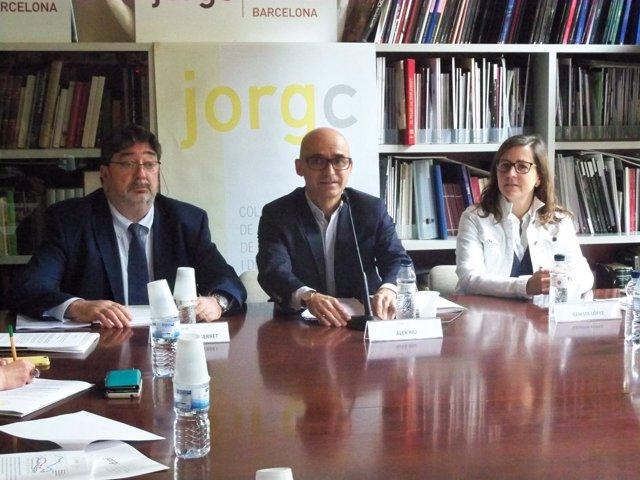 Á.Riu, Josep Miquel Serret Y Gemma López