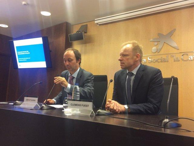 José M. Durán y Clemens Fuest