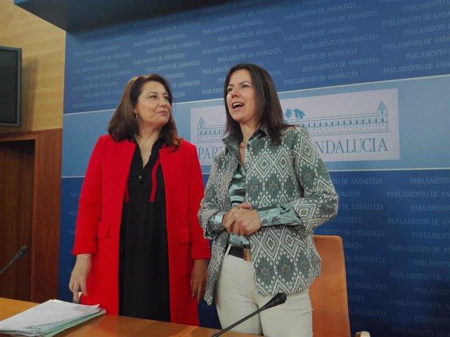 Carmen Crespo, hoy junto a Ana Vanessa García