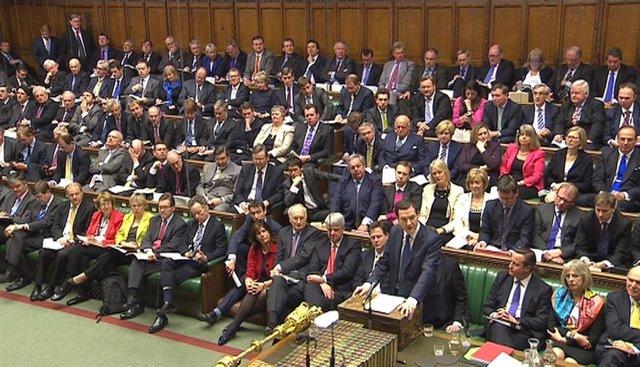 Cámara de los Comunes de Reino Unido en una imagen de archivo de 2015