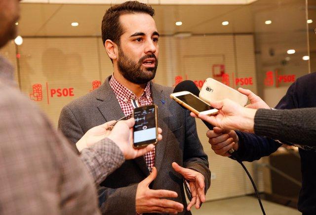 José Muñoz, portavoz de Economía, Empleo y Sostenibilidad de la Gestora del PSOE