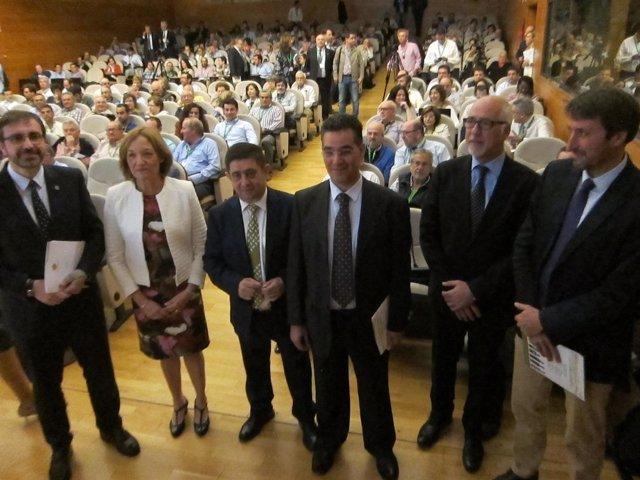 Inauguración del Simposium Científico Técnico Expoliva