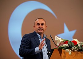 Cavusoglu asegura que cada arma destinada a las YPG es una amenaza contra Turquía