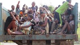 Más de 20.000 congoleños han huido a Angola por el conflicto en Kasai