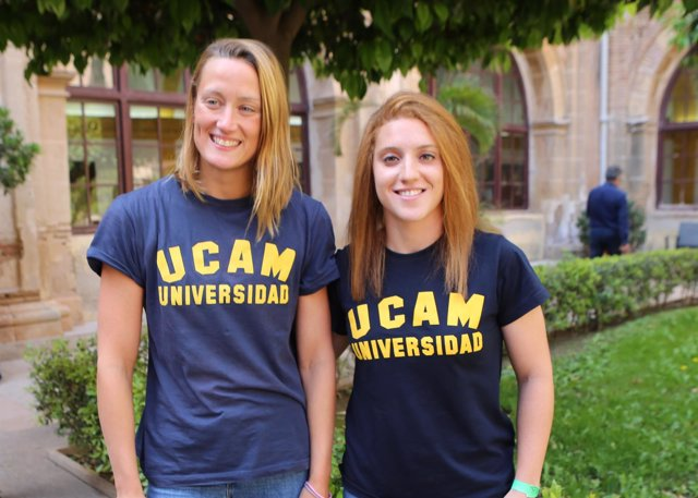 Mireia Belmonte y Ana Mariblanca, deportistas de la UCAM