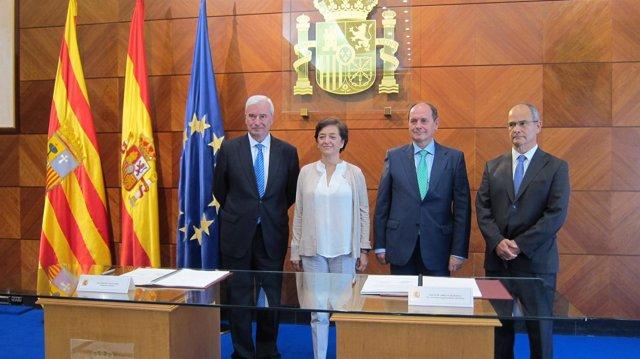 Gustavo Alcalde, Esperanza Orellana, Francisco Norte y Felipe Gómez