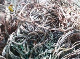Cuatro detenidos por un robo de cableado que dejó sin alumbrado público a cinco pueblos de la comarca de Guadix