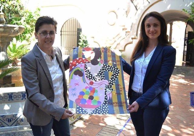 Gómez (dcha.) y Muñoz presentan el cartel del evento