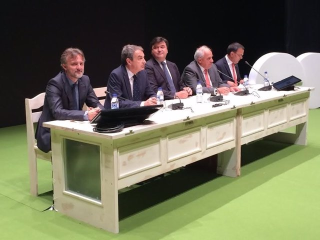 El consejero de Medio Ambiente, José Fiscal, en inauguación del cambio climático