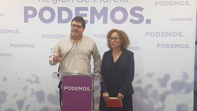Andrés Pedreño y Alicia Morales