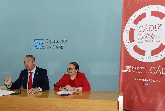 Juan Carlos Ruiz Boix, vicepresidente de la Diputación de Cádiz