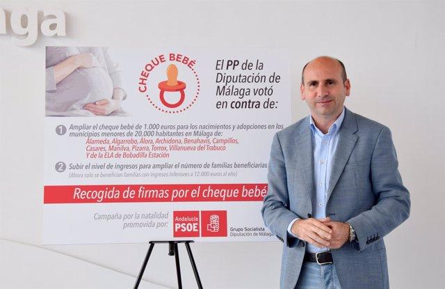 Francisco Paco Conejo PSOE portavoz diputación cheque bebé