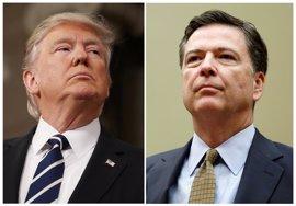 """Trump defiende el cese de Comey y confía en encontrar un director """"mucho mejor"""""""