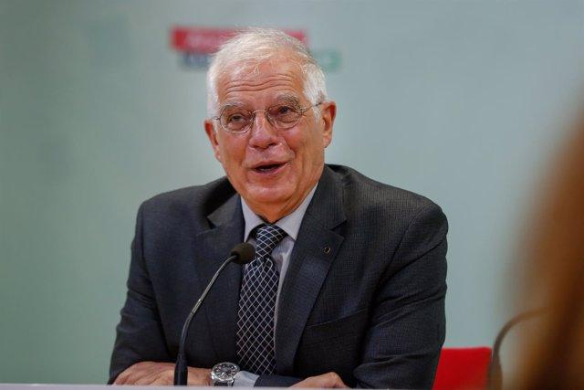 Josep Borrell, este miércoles en Sevilla