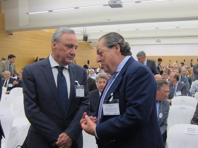 Francisco Martínez-Cosentino dialoga con Vicente Boluda