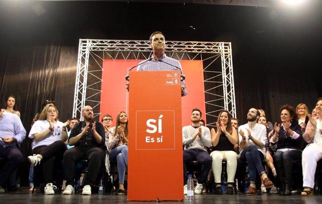 Pedro Sánchez, en Jerez de la Frontera