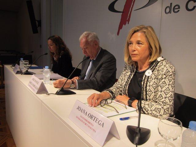 Periodista Neus Tomàs, exministro J.M.G.Margallo, exvicepta.J.Ortega