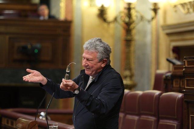 Pedro Quevedo, diputado de Nueva Canarias en el Congreso