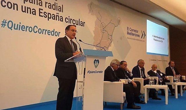 El presidente de CEA en el Encuentro de Corredor Mediterráneo