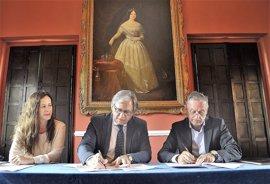 Junta y Ayuntamiento de Jerez firman un convenio para el Plan Director del conjunto del Alcázar y la muralla