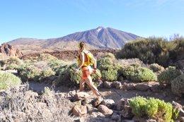Participante en la Tenerife Bluetrail