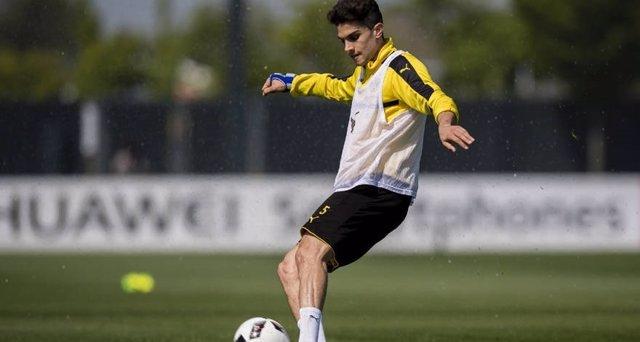 Marc Bartra vuelve a entrenar con el Borussia Dortmund