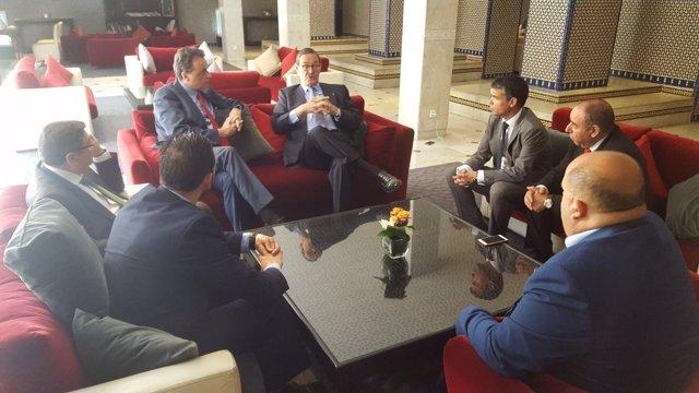 Alcaldes PSOE Torremolinos, ojen, mareblla y velez turismo senado marroquí