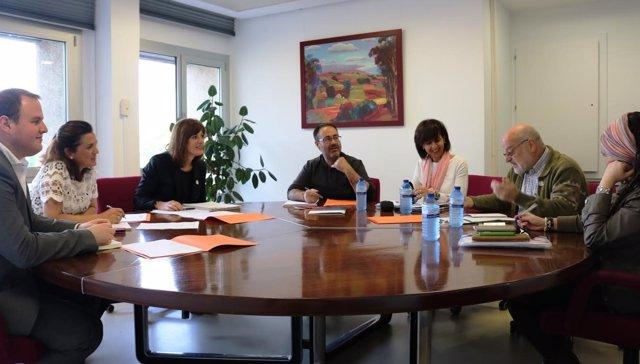 Reunión de Artolezabal con agentes de intervención social