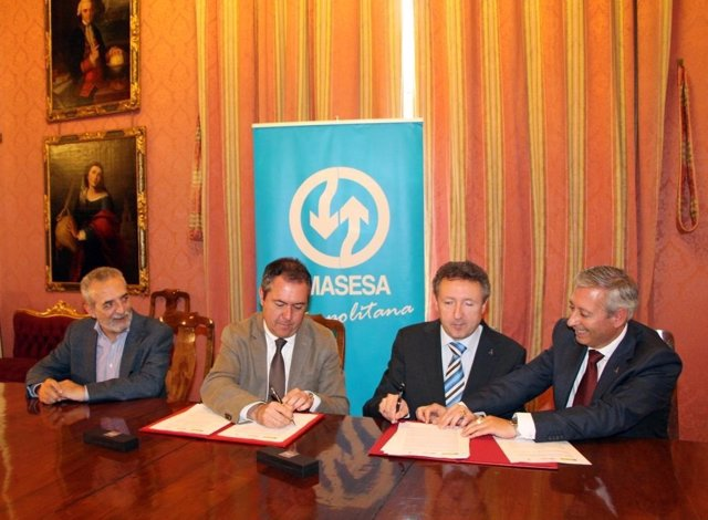 Acuerdo entre el Ayuntamiento de Sevilla y la ONCE