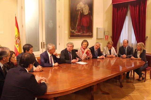 Grupo Territorial de senadores del PP por Aragón