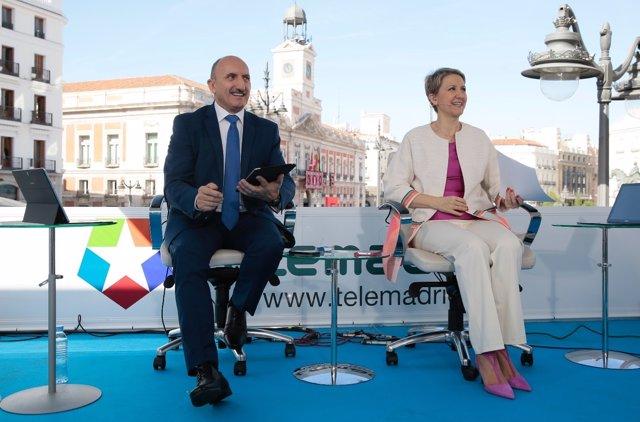 Alipio Gutiérrez e Inmaculada Galván