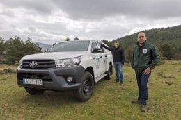 Toyota cederá vehículos a WWF España