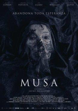 El thriller 'Musa' de Jaume Balagueró se estrenará el 1 de diciembre