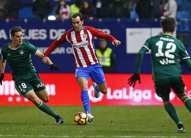 Godín en el Atlético de Madrid - Real Betis