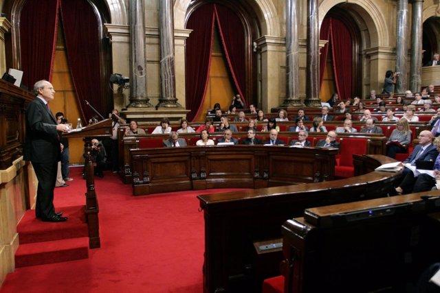 Montilla en el Parlament