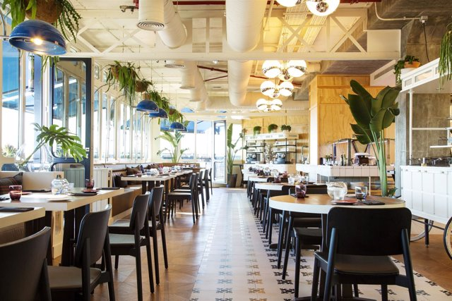 Comedor del YOUniverse - Hotel Only You Atocha
