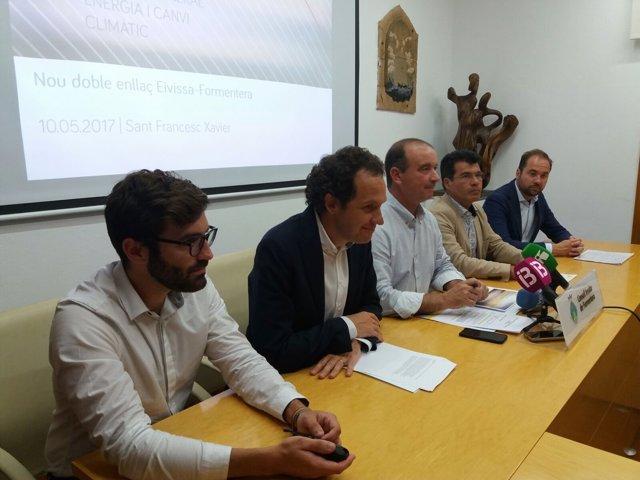 Marc Pons en el Consell de Ibiza