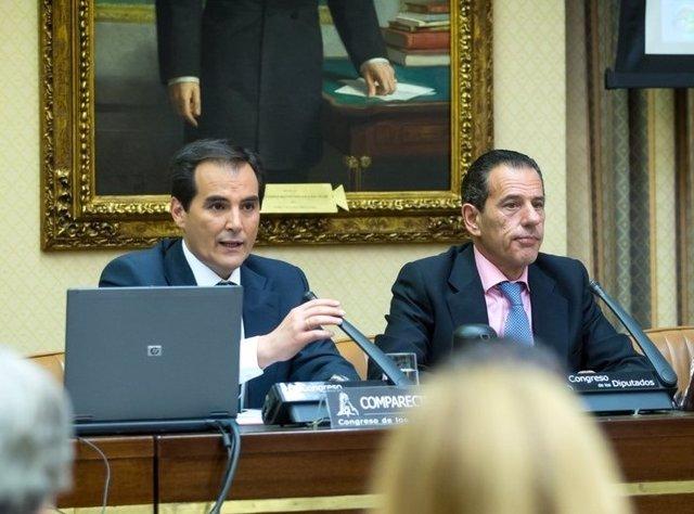 Josér Antonio Nieto y Rafael Merino
