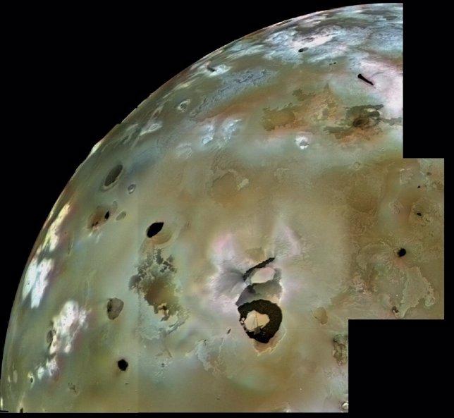 Imagen de Loki Patera tomada por la Voyager 1