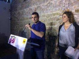 La CUP pide un órgano de coordinación del referéndum con PDeCAT, ERC, CUP y 'comuns'