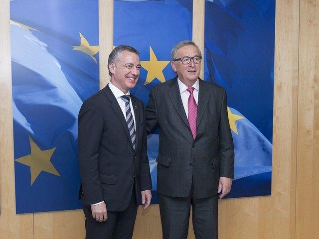 Urkullu y Juncker