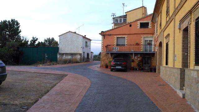N.I. Ejea, Finalizada La 2ª Fase De De Las Obras De Renovación De La Calle Canta